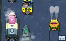 SpongeBob Delivery Dilemma