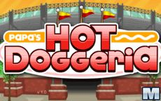 Papa's Hot Doggeria - Будешь готовить хот-доги