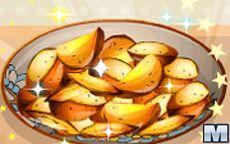 Готовим С Сарой: жаренный картофель