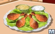 Готовим с Сарой: Курица в духовке