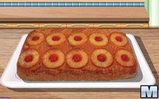 Готовим с Сарой: торт с ананасами