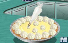 Готовим с Сарой: лимонный торт