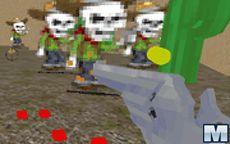 Cowboy Vs Zombie