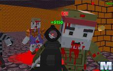 Combat Pixel Vehicle Zombie