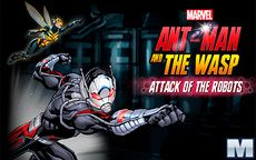 Ant Man and the Wasp Attack of the Robots