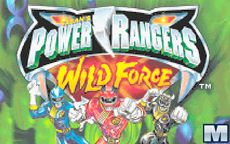 Powe Rangers Wild Force