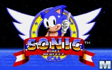 Sonic Pixel Perfect