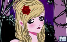 Dark Rose Hair